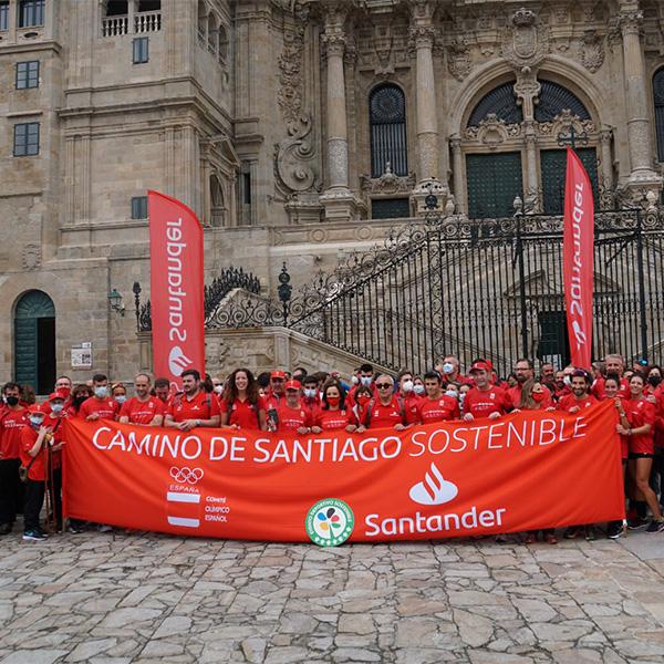 Objetivo cumplido en el Camino de Santiago Sostenible