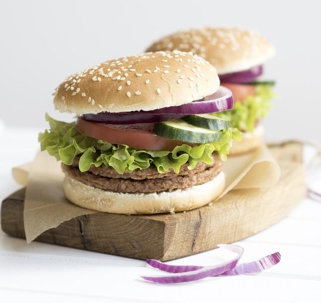 La receta mágica de hamburguesas para deportistas