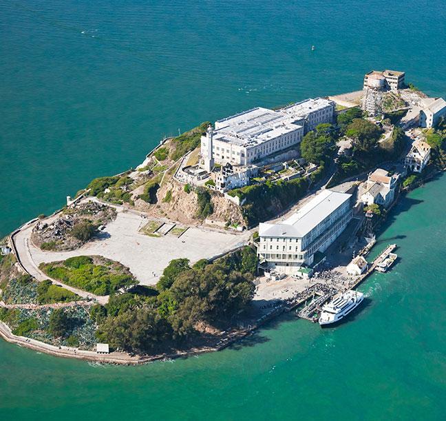 Triatlón en la prisión de Alcatraz
