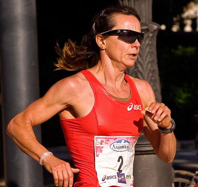 Ana Burgos, leyenda del triatlón
