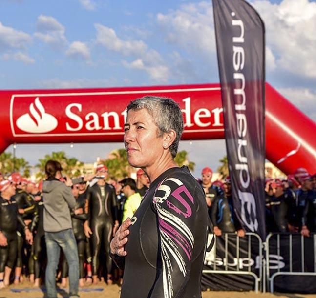 Valencia aguarda la salida de la Santander Triathlon Series
