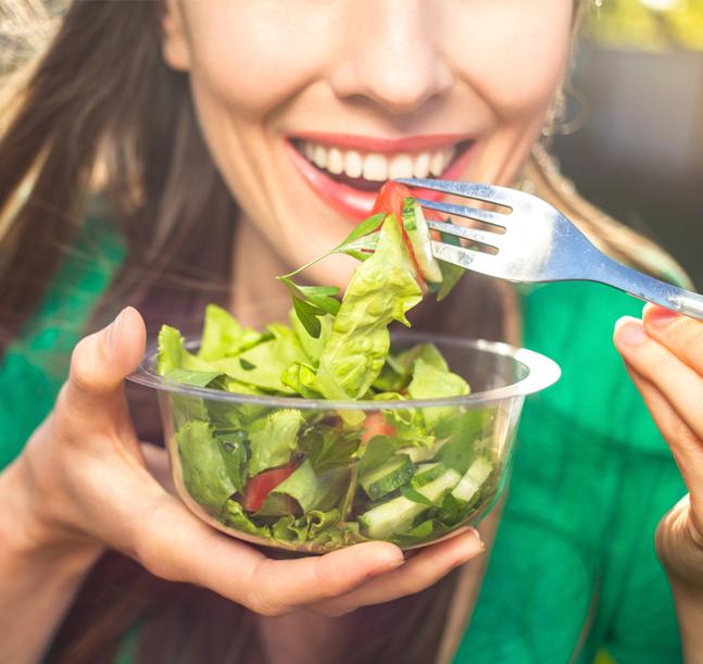 Comer sano en la oficina es posible