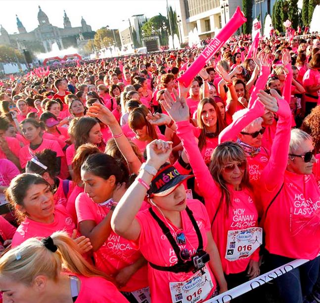 La Carrera de la Mujer llega a Barcelona