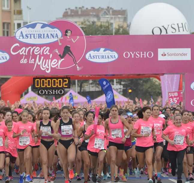 La Carrera de la Mujer continúa el próximo domingo en A Coruña