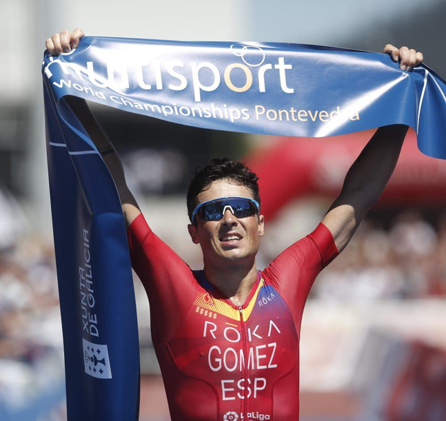Gómez Noya, campeón del mundo... ¡En casa!