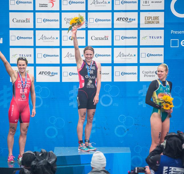 España domina la Clasificación Mundial de Triatlón