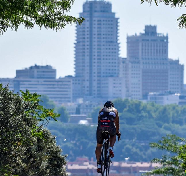 El Santander Triatlón de Madrid reunirá a miles de deportistas el 29 y 30 de junio