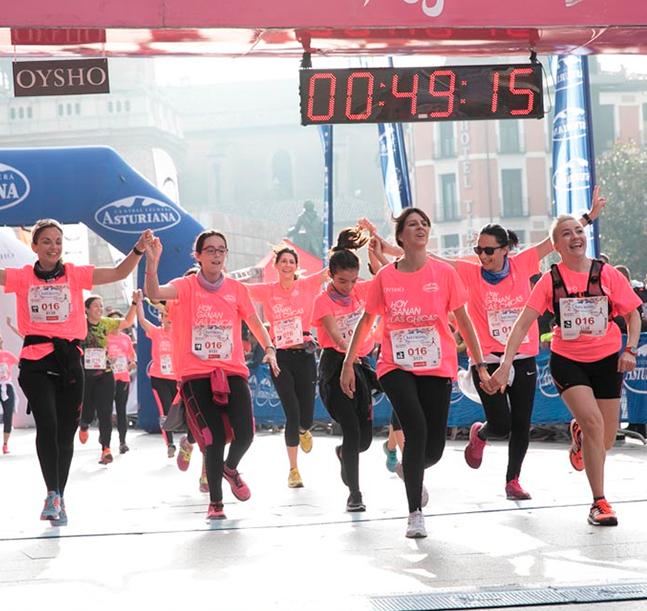 Zaragoza espera a la Marea Rosa de la Carrera de la Mujer