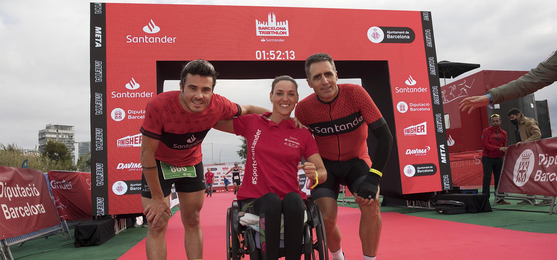 El Triatlón Barcelona '21, en fotos